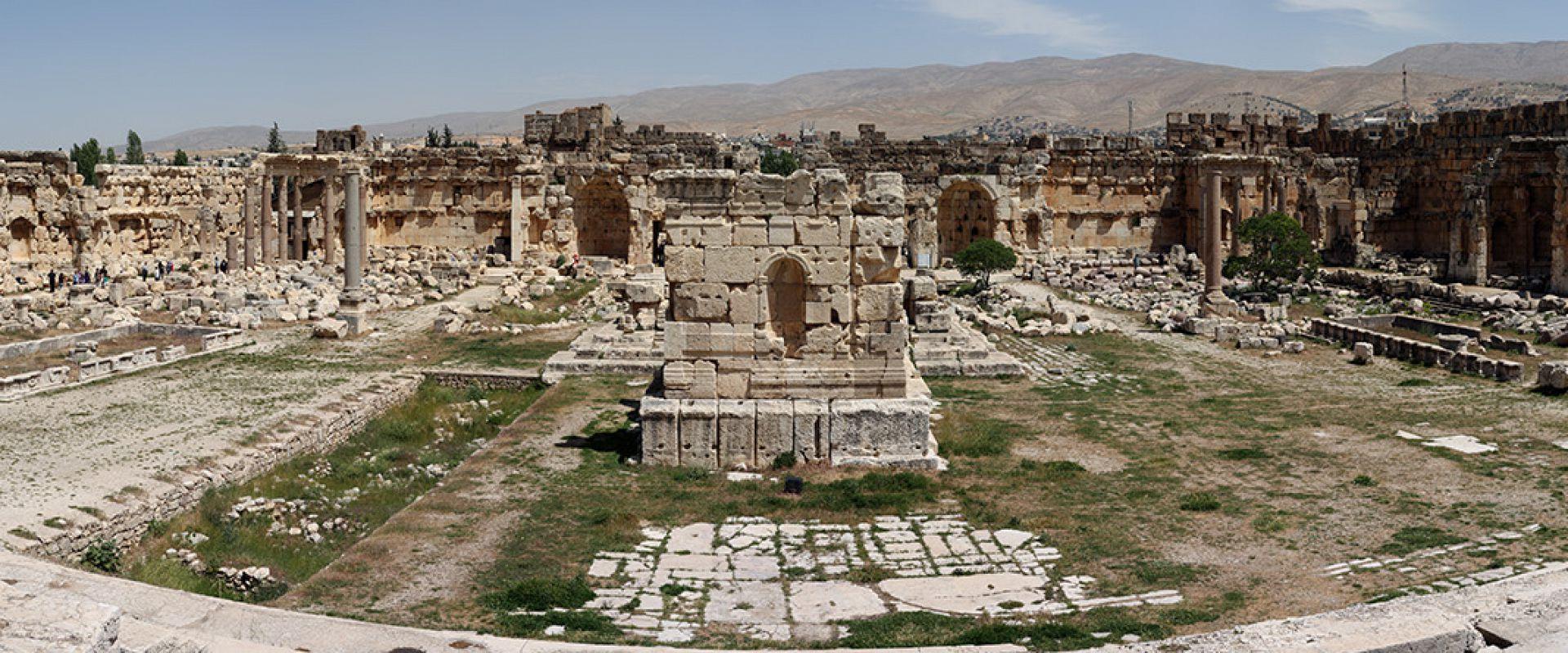 Baalbek Ruins Back in time.